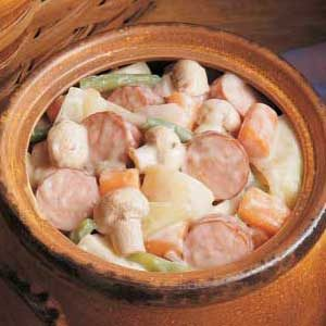 Sausage and Mushroom Stew