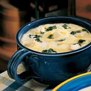 Spinach Cheese Soup