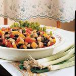 Black-and-White Bean Salad