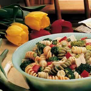 Turkey Vegetable Pasta Salad