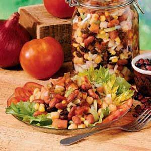 Southwestern Bean Salad