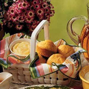 Sweet Cornmeal Muffins