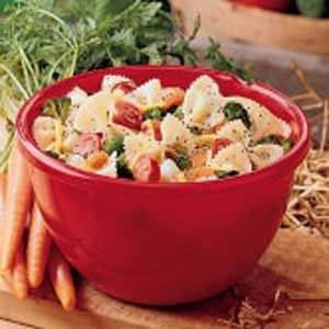Pasta Salad with Poppy Seed Dressing
