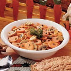 Carrot Mushroom Stir-Fry