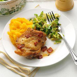 Rosemary-Lemon Chicken Thighs