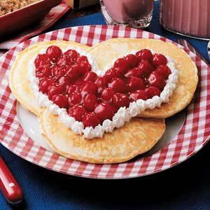 Sweetheart Pancakes