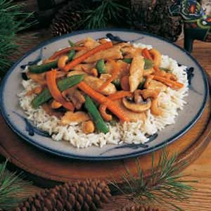 Turkey Stir-Fry