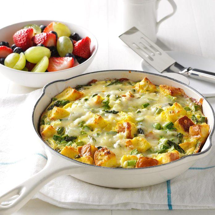 Asparagus & Cheese Frittata