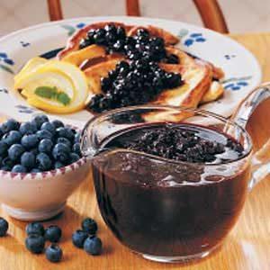 Blueberry Breakfast Sauce