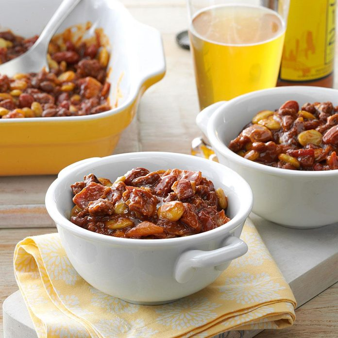 Day 4: Fourth of July Bean Casserole