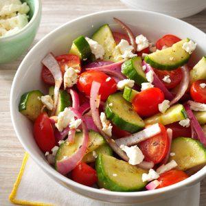 Balsamic Cucumber Salad