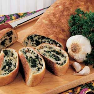 Spinach Cheese Swirls