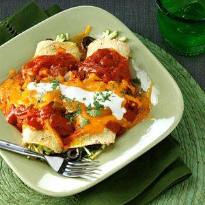 Zucchini Enchiladas