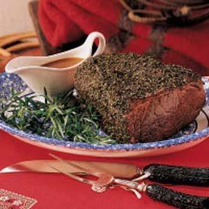 Herb-Crusted Roast Beef