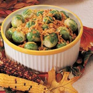 Microwave Brussels Sprouts
