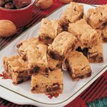 Chewy Date Nut Bars