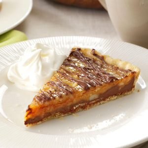 Chocolate-Nut Caramel Tart
