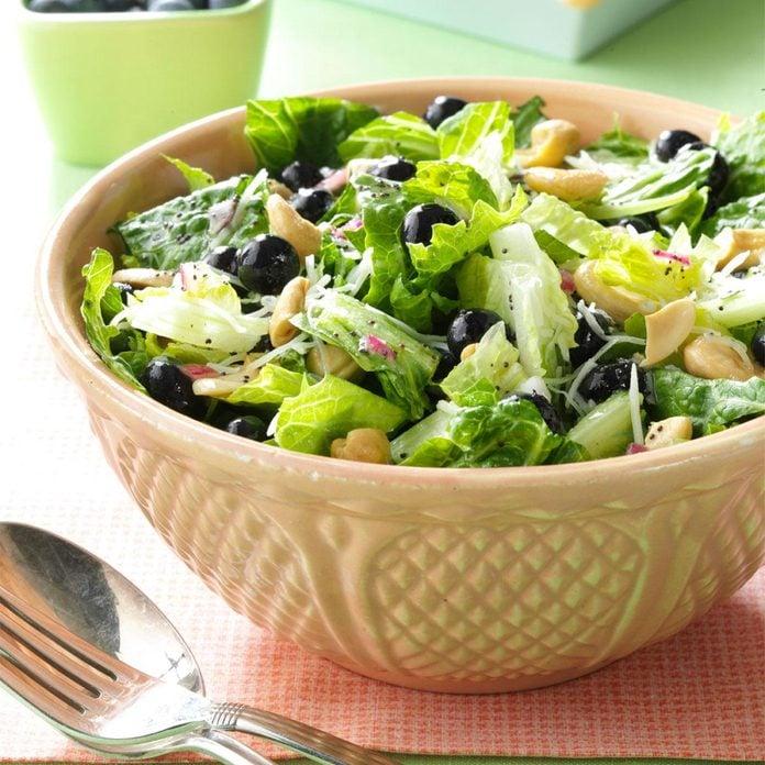 Blueberry Romaine Salad