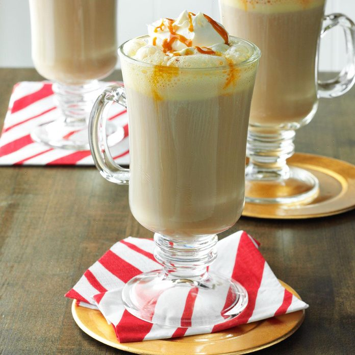 Caramel-Chai Tea Latte