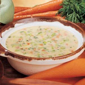Carrot Cheese Soup