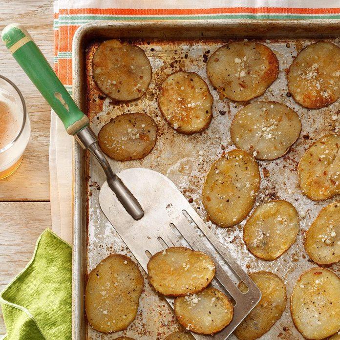 Oven Parmesan Chips