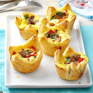 Quiche Pastry Cups