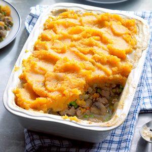 Winter Vegetable Shepherd's Pie