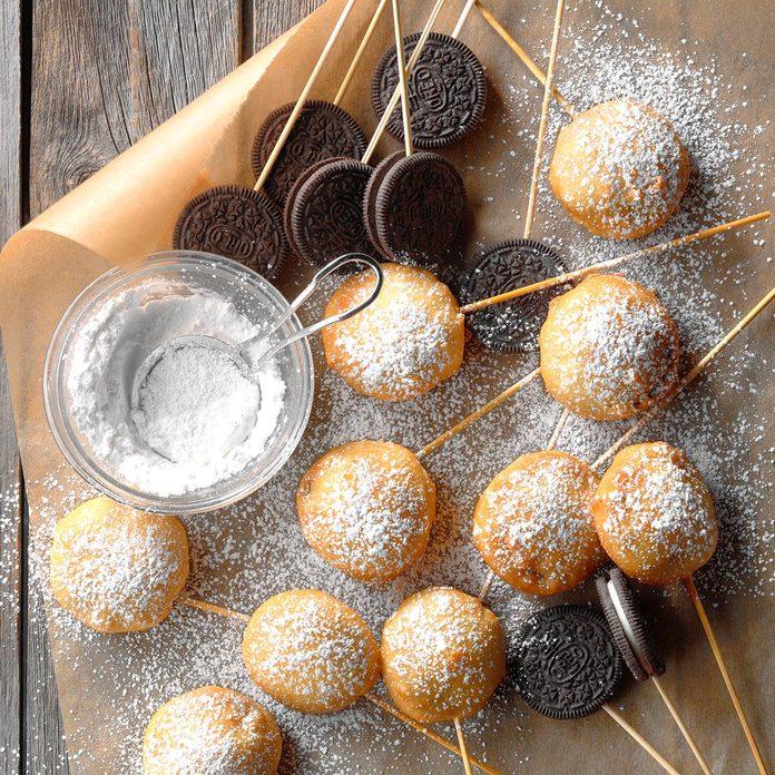 Deep-Fried Cookies