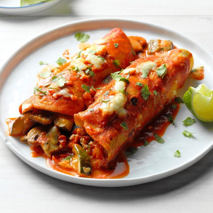 Day 2 Dinner: Farmers Market Enchiladas