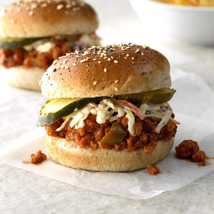 Sweet and Spicy Sloppy Joes