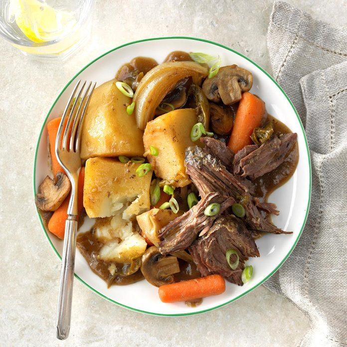Day 20: Teriyaki Beef Roast