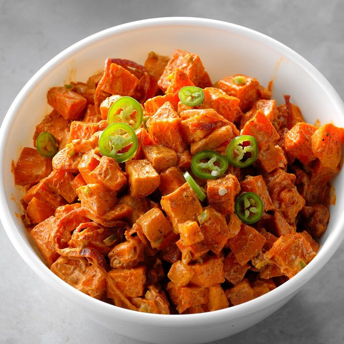 Tropical Sweet Potato Salad