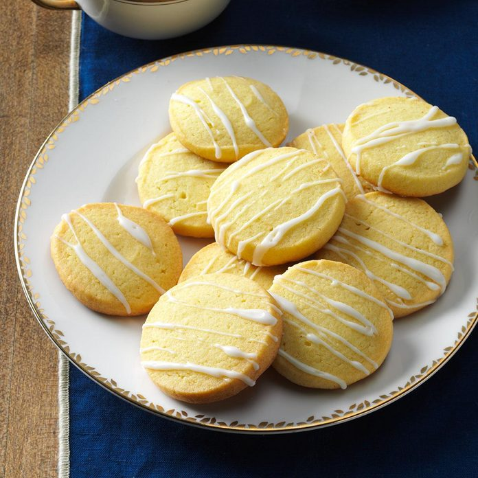 Air-Fryer Lemon Slice Sugar Cookies