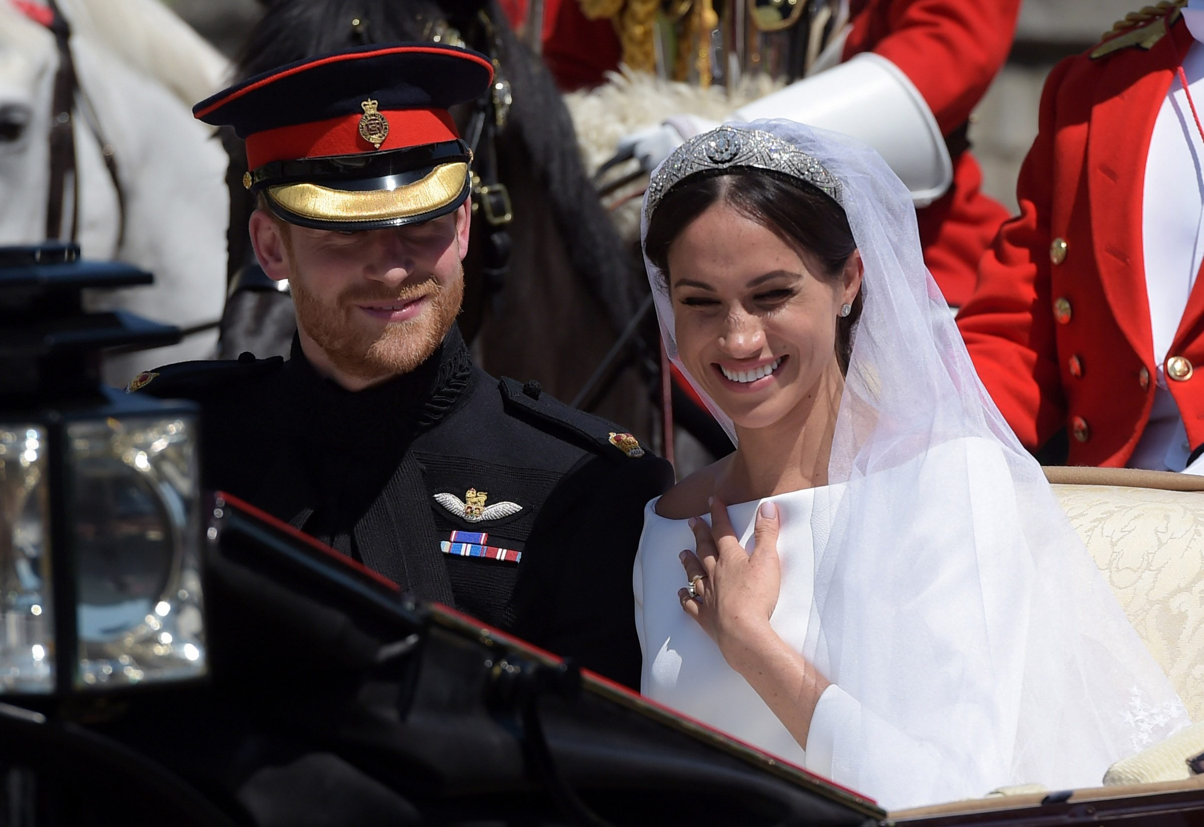 Prince Harry and Meghan Markle The wedding of Prince Harry and Meghan Markle, Carriage Procession, Windsor, Berkshire, UK - 19 May 2018