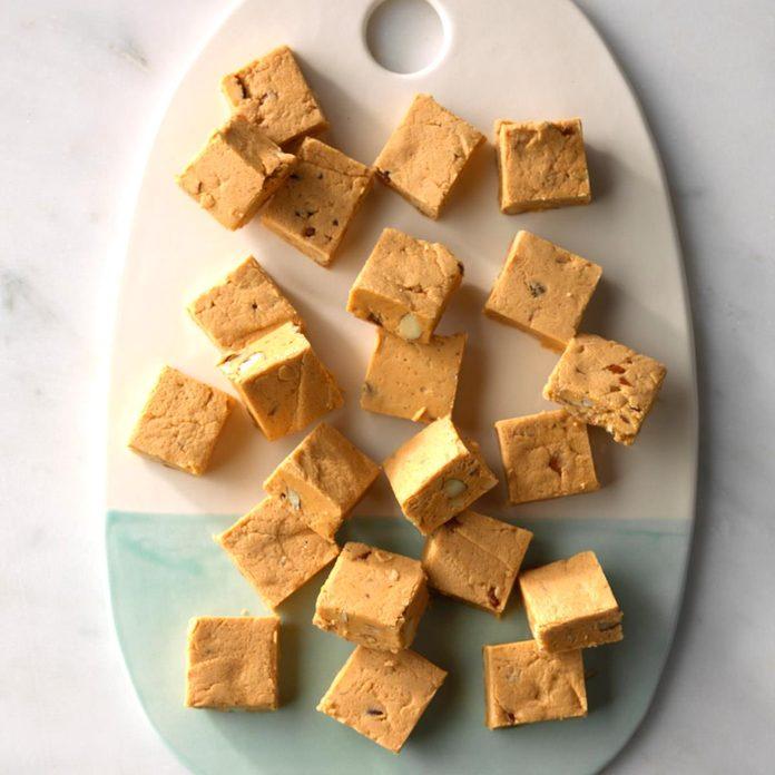 Butterscotch Pumpkin Fudge