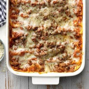 Perfect Four-Cheese Lasagna