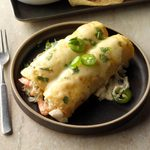 Cheesy Seafood Enchiladas