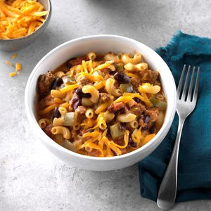 Chili Macaroni and Cheese