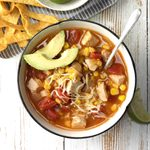 Weeknight Turkey Tortilla Soup