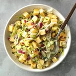 Cabbage and Rutabaga Slaw