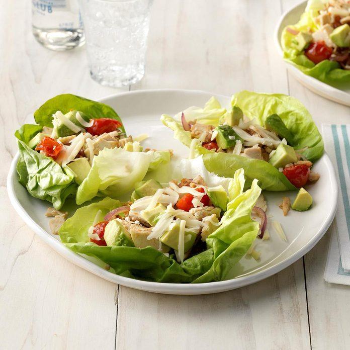 Day 30: Turkey Lettuce Wraps