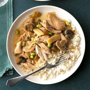 Pressure Cooker Chicken Chop Suey