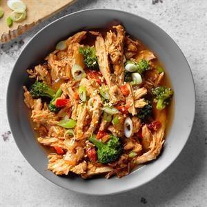 Pressure-Cooker General Tso's Stew