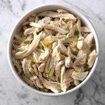 Pressure Cooker Lemon Chicken with Basil