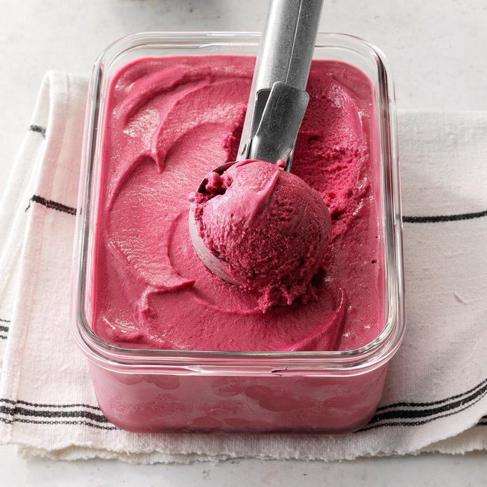 Blackberry Daiquiri Sherbet