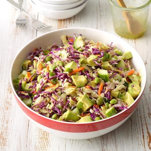 Thai Salad with Cilantro Lime Dressing