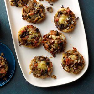 Brie Mushroom Pastries