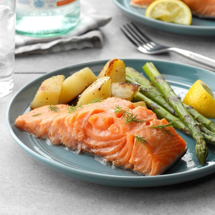 Easy Poached Salmon