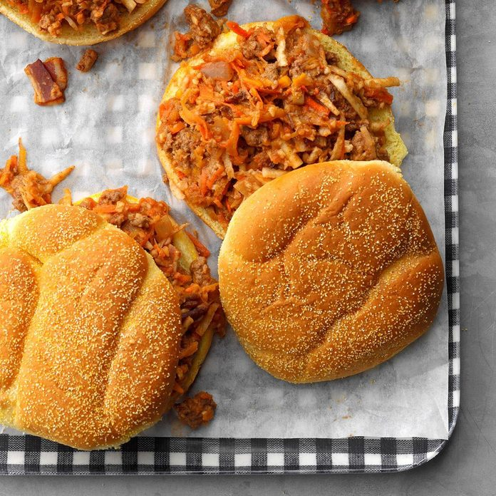 Day 2: Fall Vegetable Sloppy Joes