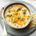 Loaded Broccoli-Cheese Potato Chowder
